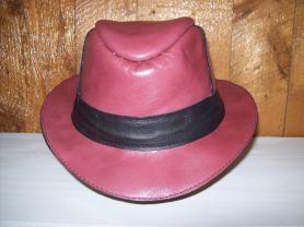 chapeau de cuir