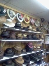 chapeaux de cuir aventure